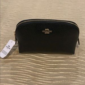Coach makeup bag black authentic coach.